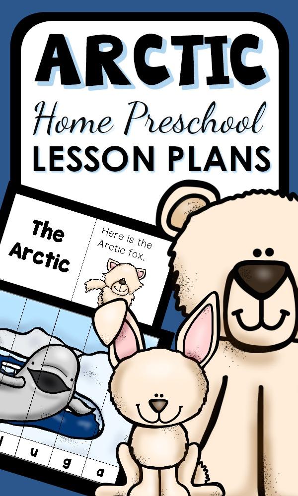 Preschool Arctic Animal Activities and Printable Lesson Plans