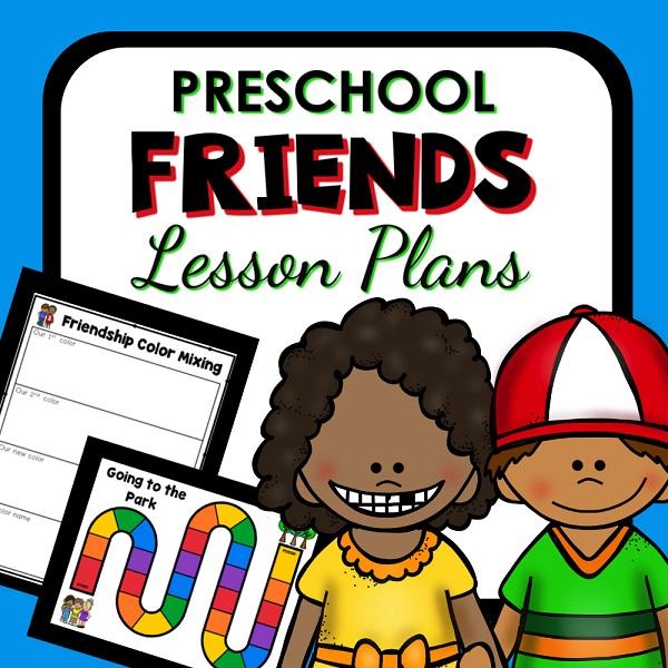 Preschool Friends Lesson Plans_600
