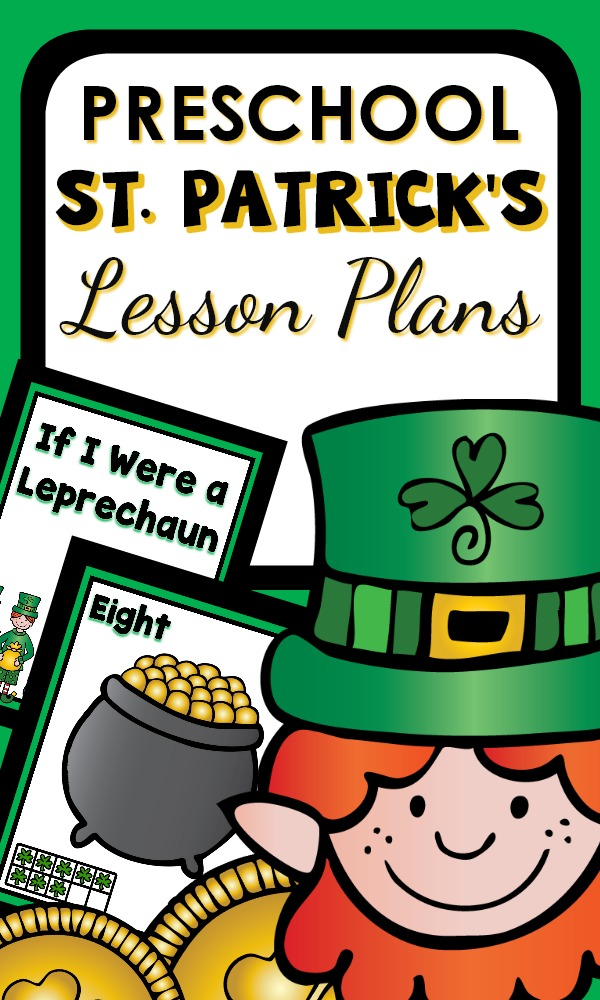 Preschool St. Patrick's Day fun activities and games for kids #preschool #StPatricksDay #lessonplans