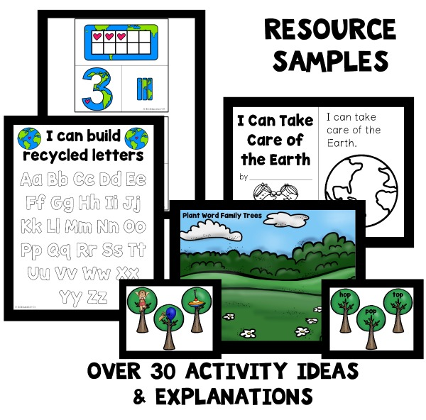earth day preschool lesson plans earth day theme preschool classroom lesson plans 94248