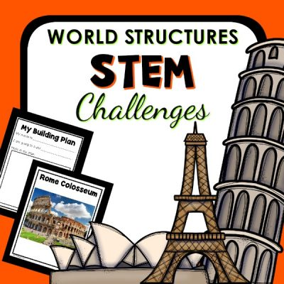 World Structures Preschool STEM Challenge for the Block Center