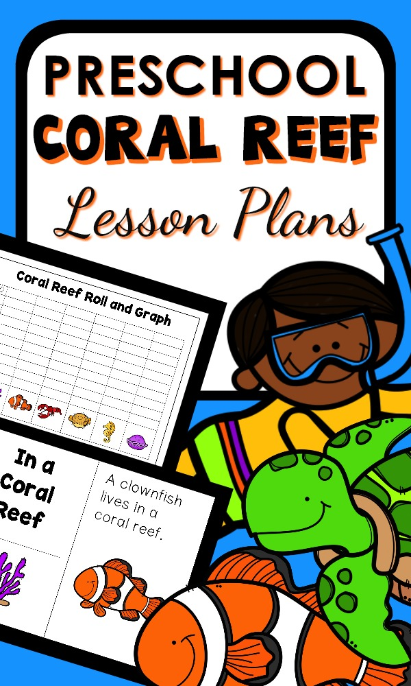 Preschool Coral Reef Lesson Plans and Ocean Activities #preschool #lessonplans #summer