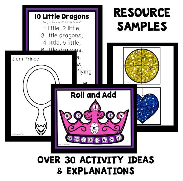 Crown Lesson Plan: Fairy Tale Theme Preschool Classroom Lesson Plans
