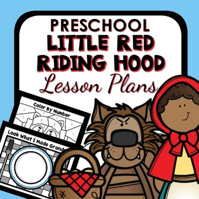 Little Red Riding Hood Preschool Lesson Plans
