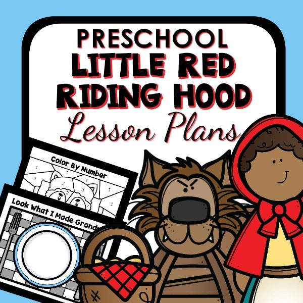 Little Red Riding Hood Preschool Lesson Plans