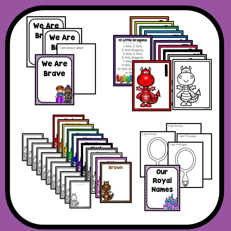 fairy tale theme preschool classroom lesson plans preschool teacher 101. Black Bedroom Furniture Sets. Home Design Ideas