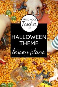 Halloween Theme Lesson Plans