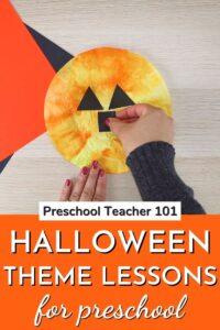 Halloween Theme Lessons for Preschool