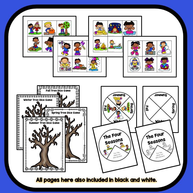 Lesson Plans Four Seasons Lesson Plan: Seasons Theme Preschool Classroom Lesson Plans