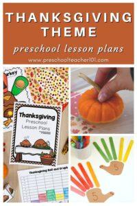 Thanksgiving Theme - Preschool