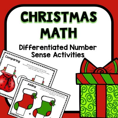 Christmas Number Sense Math Activities for Preschool