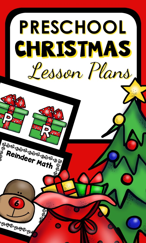 Preschool Christmas Lesson Plans and Hands-on Christmas Activities #christmas #lessonplans #preschool