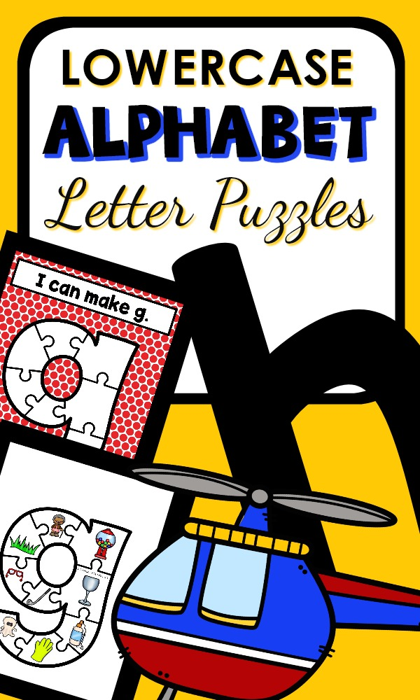 Lowercase Alphabet Puzzles Preschool ABC Games #preschool #alphabet