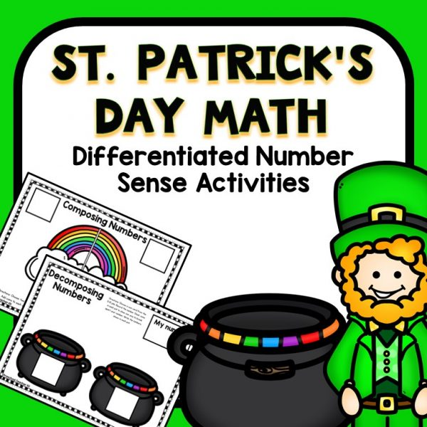 St. Patrick's Day Math Preschool Activities