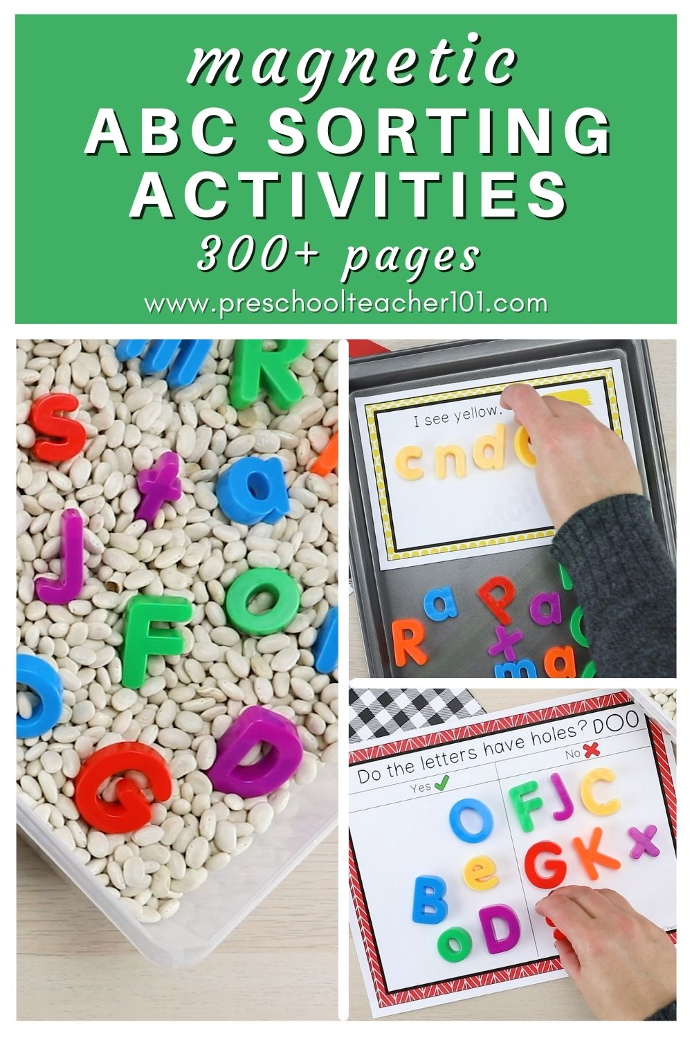 Magnetic ABC Activities