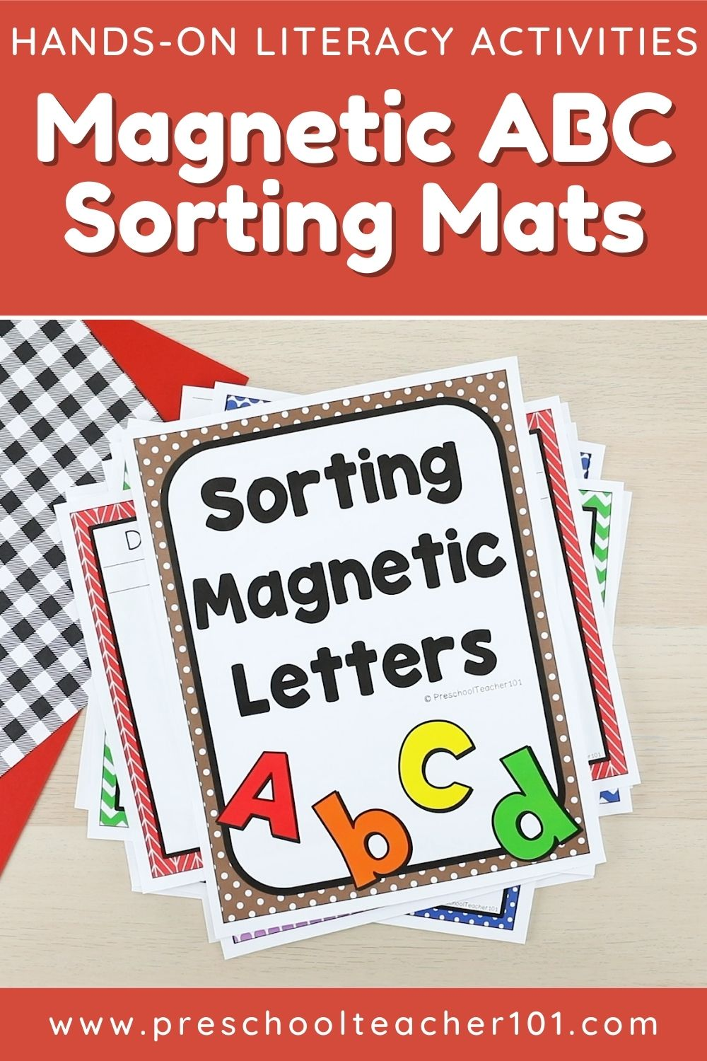 Playful Learning Activities - ABC Magnetic Sorting