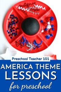 America Theme Lessons for Preschool