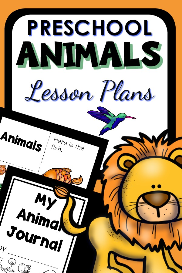 Preschool Animals Lesson Plans. Animal Theme Activities for Preschool #preschoolthemes #lessonplans #preschool #prek