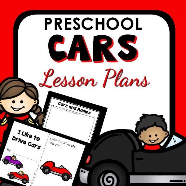 Car Theme Lesson Plans for Preschool