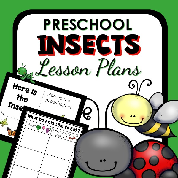 Preschool Insect Theme Lesson Plans