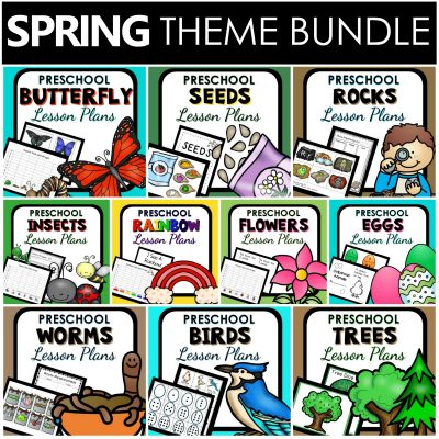 Spring Theme Lesson Plans for Preschool