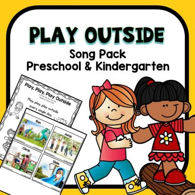 Play Outside Preschool Circle Time Song