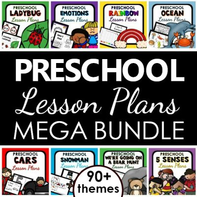 Favorite preschool lesson plans curriculum bundle