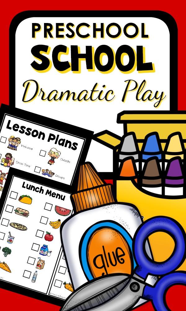 Preschool Lesson Plans for School Pretend Play Activities #preschool #athomeactivities #lessonplans
