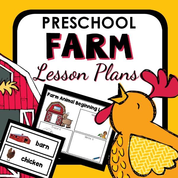 Farm Theme Preschool Lesson Plans and Farm Activities for Prekindergarten