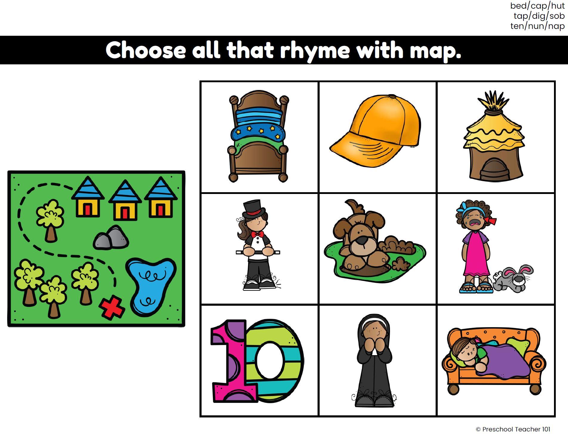 Rhyming Google Slides Digital Activities-Set 3