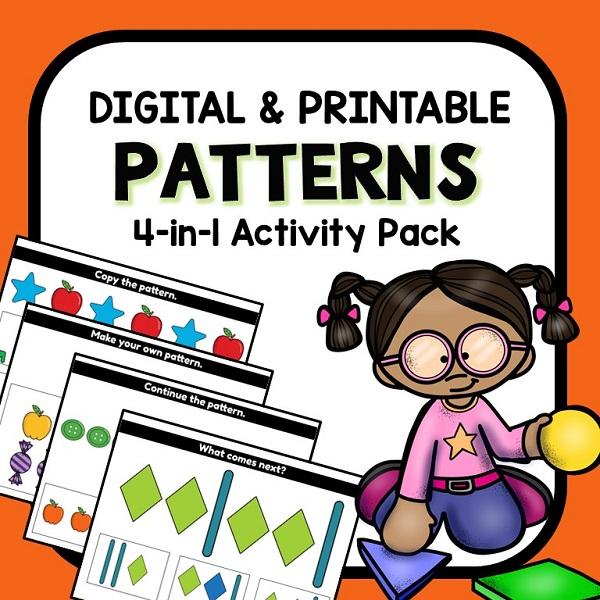 Digital Pattern Activities for Preschool
