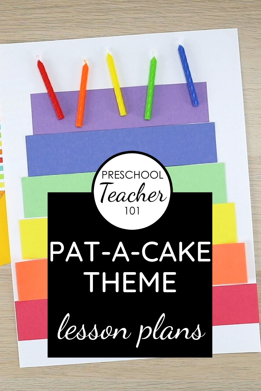 Pat-A-Cake Theme LP