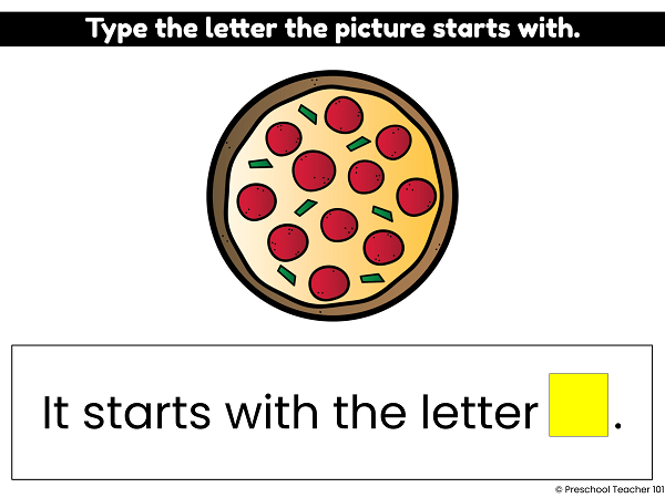Initial Sounds Phonics Activities for PreK and K