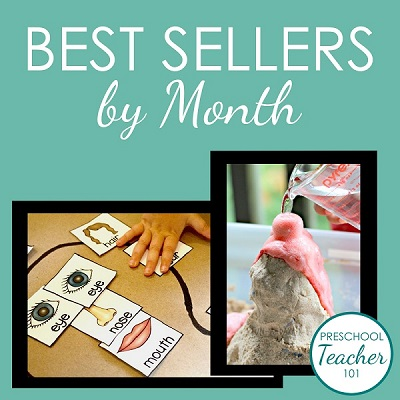 Best Sellers by Month
