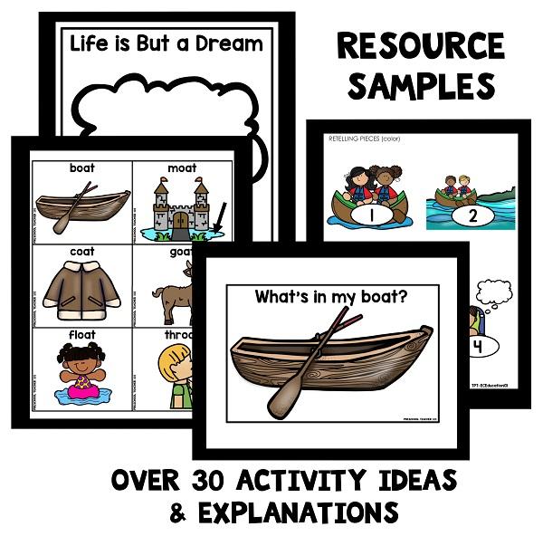 Row Your Boat Preschool Activities