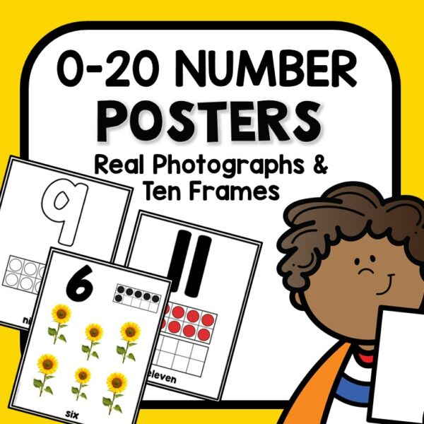Cover-0-20 Number Posters-Photograph